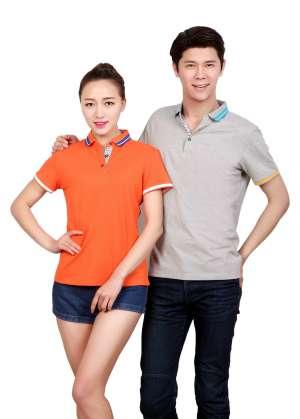 新款纤维丝光棉精品T恤衫 男女款T恤衫