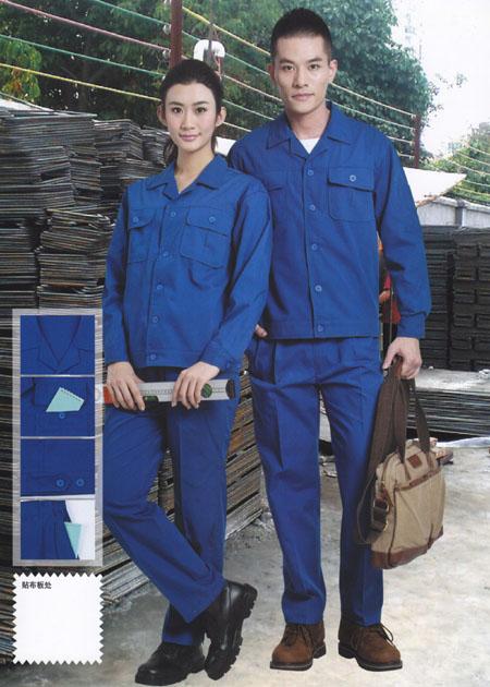 短袖工作服 涤棉工作服 煤矿工作服
