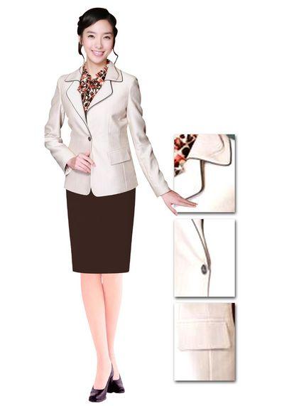 女夏职业装 女白领职业装 职业装定做