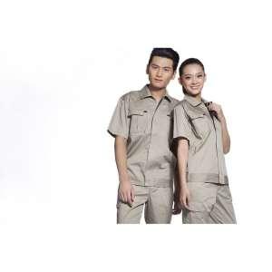 工作服 劳保服/工程服 秋装热批定做工装厂服来样加工