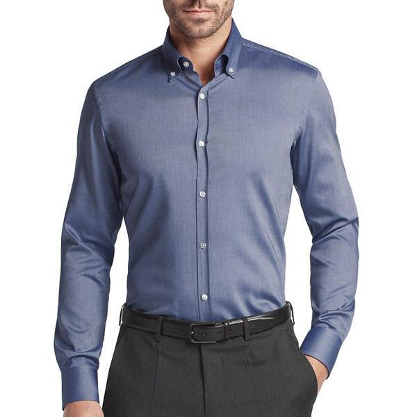 经典又时尚男士衬衫这样穿搭最好看!定制职业装衬衫