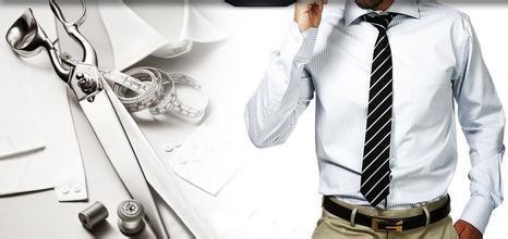 衬衣定制知如何系腰带更别具一格