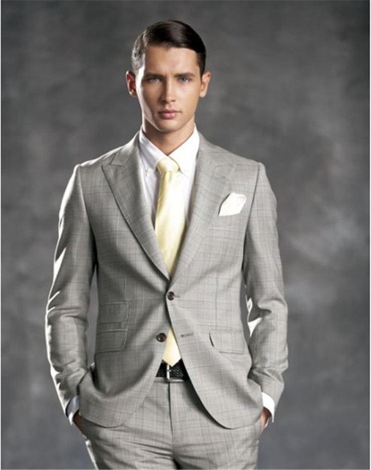 正确的西装穿着——尽显男人魅力